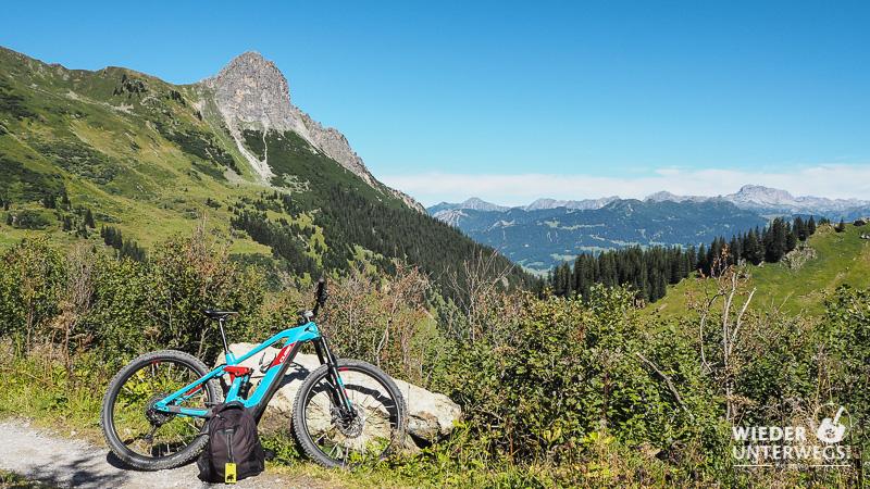 mountainbike tour Montafon