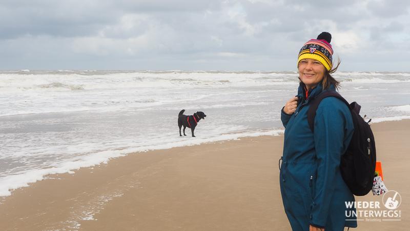 Herbst. Hund. Holland: Ich will wieder an die Nordsee!