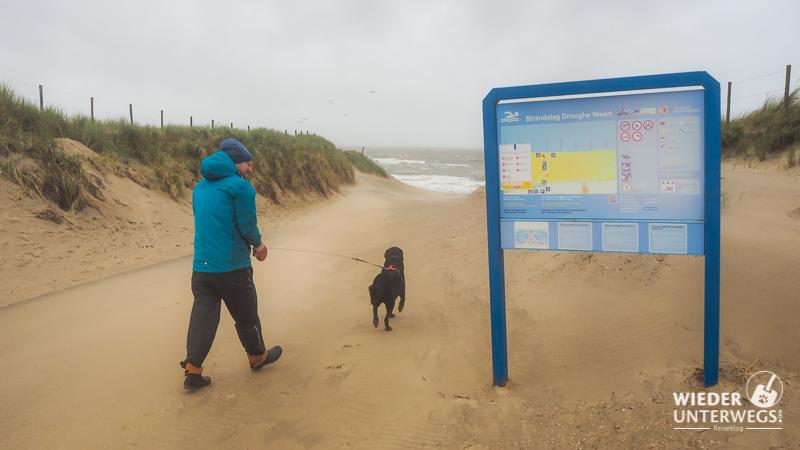 Julianadorp Urlaub mit Hund Strandzugang