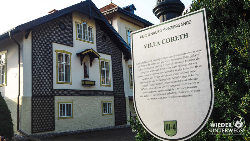 villa coreth reichenau