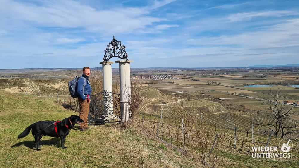 Rohrendorf Wanderung ausblick kremstal