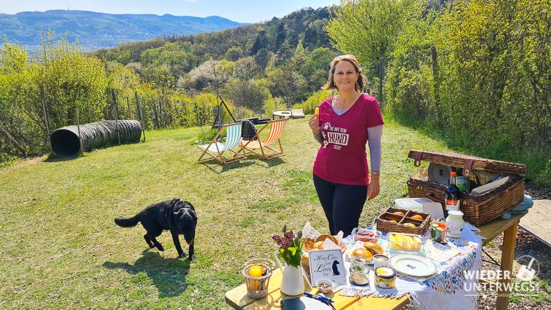 Picknick vom Bioladen Bisamberg, personal dog zone