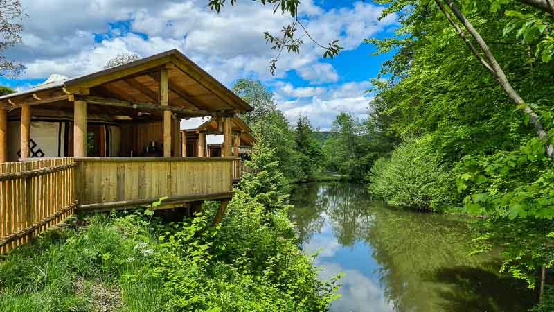 Hütte am Fischteich Camping Village Wörthersee