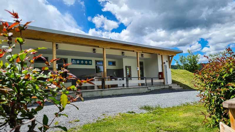 sanitäranlage neu camping village wörthersee