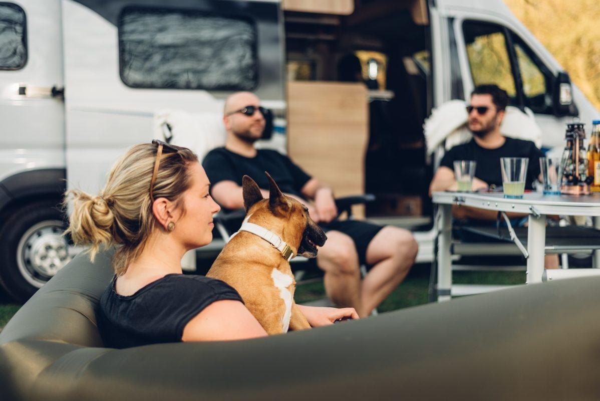 Campingbus Vanlife mit Hund Wohnmobil mieten