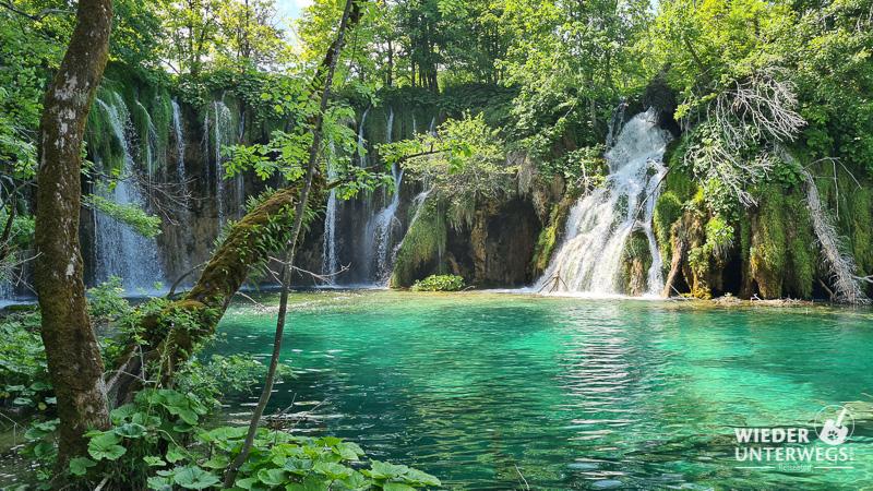 wasserfälle kroatien plitvice