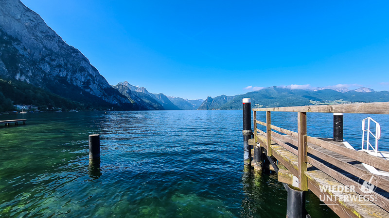 traunsee blick ebensee