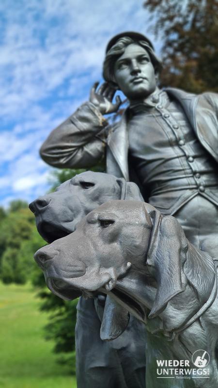 hunde im kaiserpark ischl
