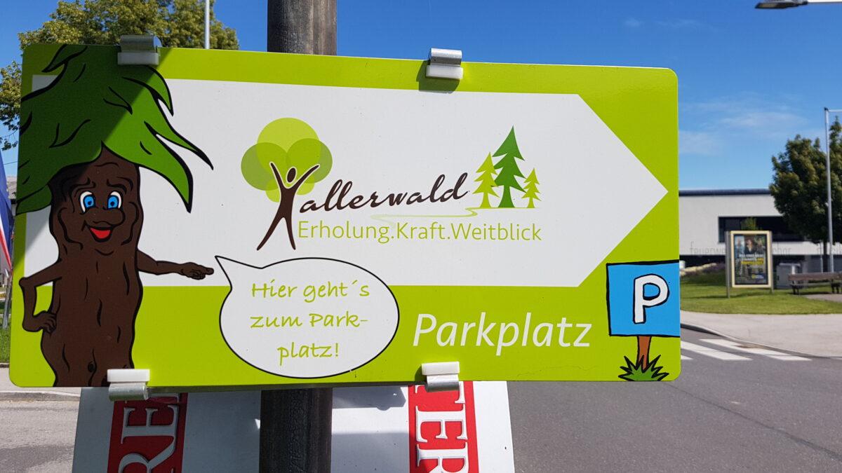 hallerwald parkplatz