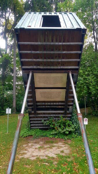 memorial naziverbrechen in gugging von der IST