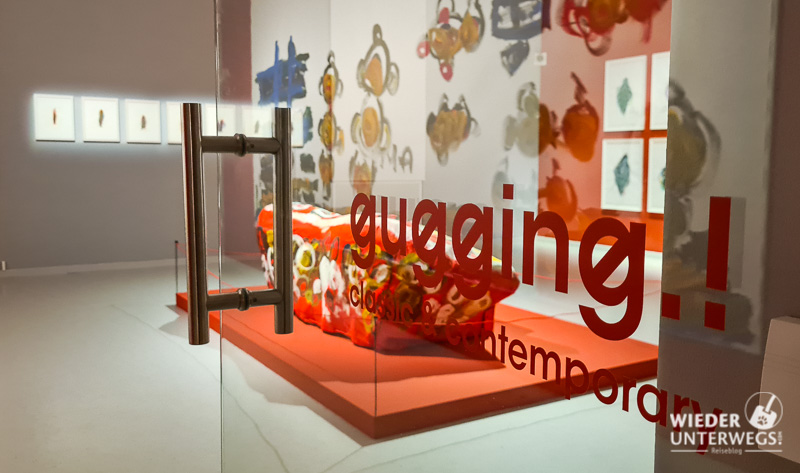 museum gugging innenraum