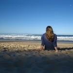 Am Sunshine Beach in Noosa - Queensland