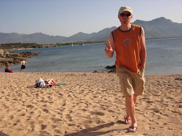 Strand Korsika