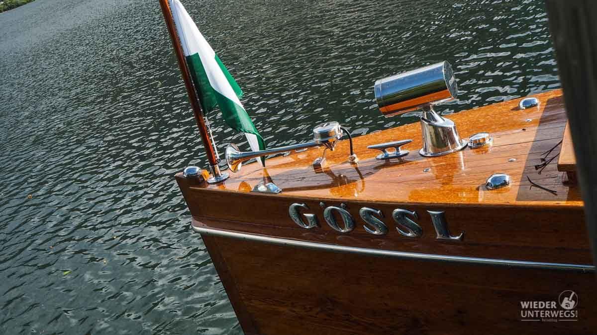 Gössl Holzschiff Seehotel Grundlsee