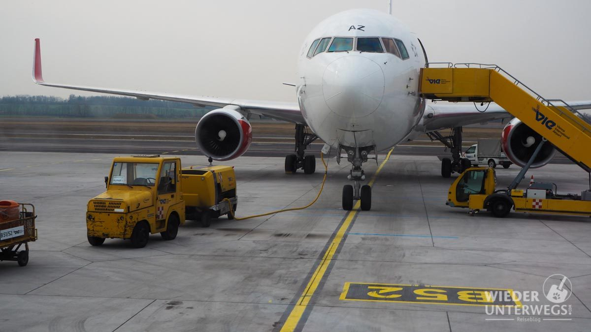 Tanken Flughafen Wien Besuchertour
