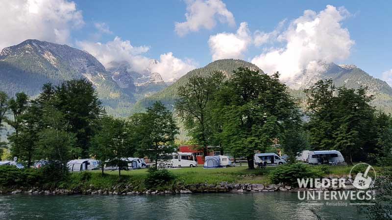 camping grubhof an der saalach pinzgau salzburg