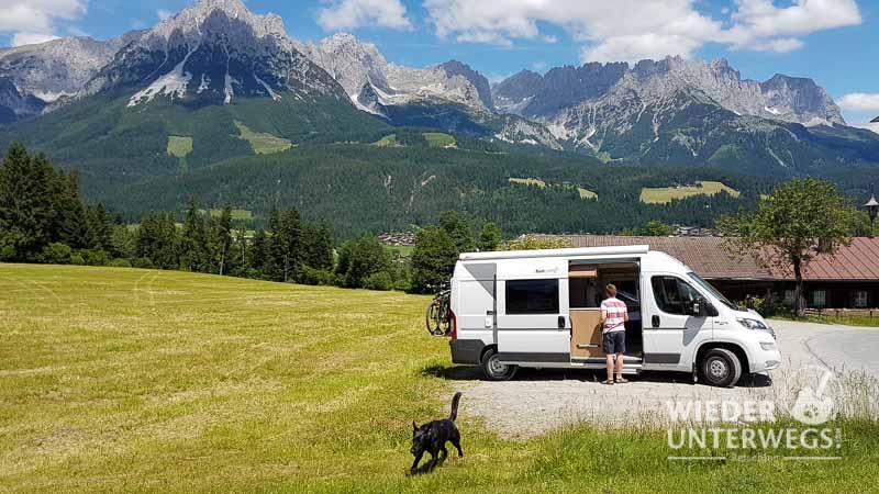 camping tirol wilder kaiser