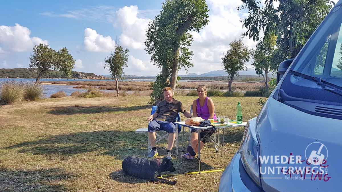 Camping mit Hund Sardinien Campingplatz