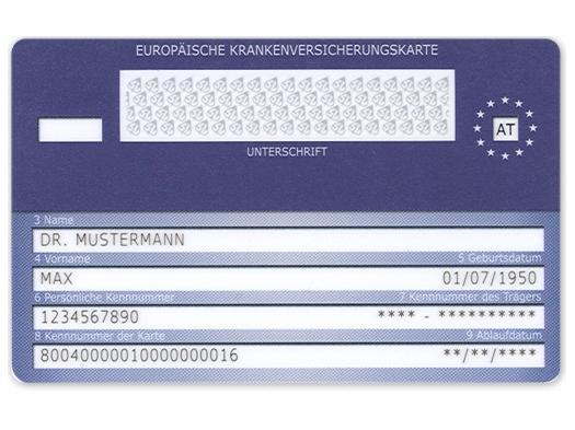 Ehic Karte.Mit Der E Card Von österreich Ins Ausland Wiederunterwegs Com