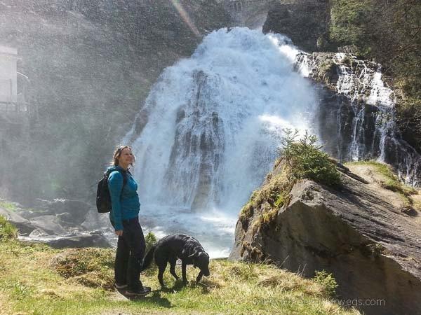 Mit Hund Kur Gastein Wasserfall