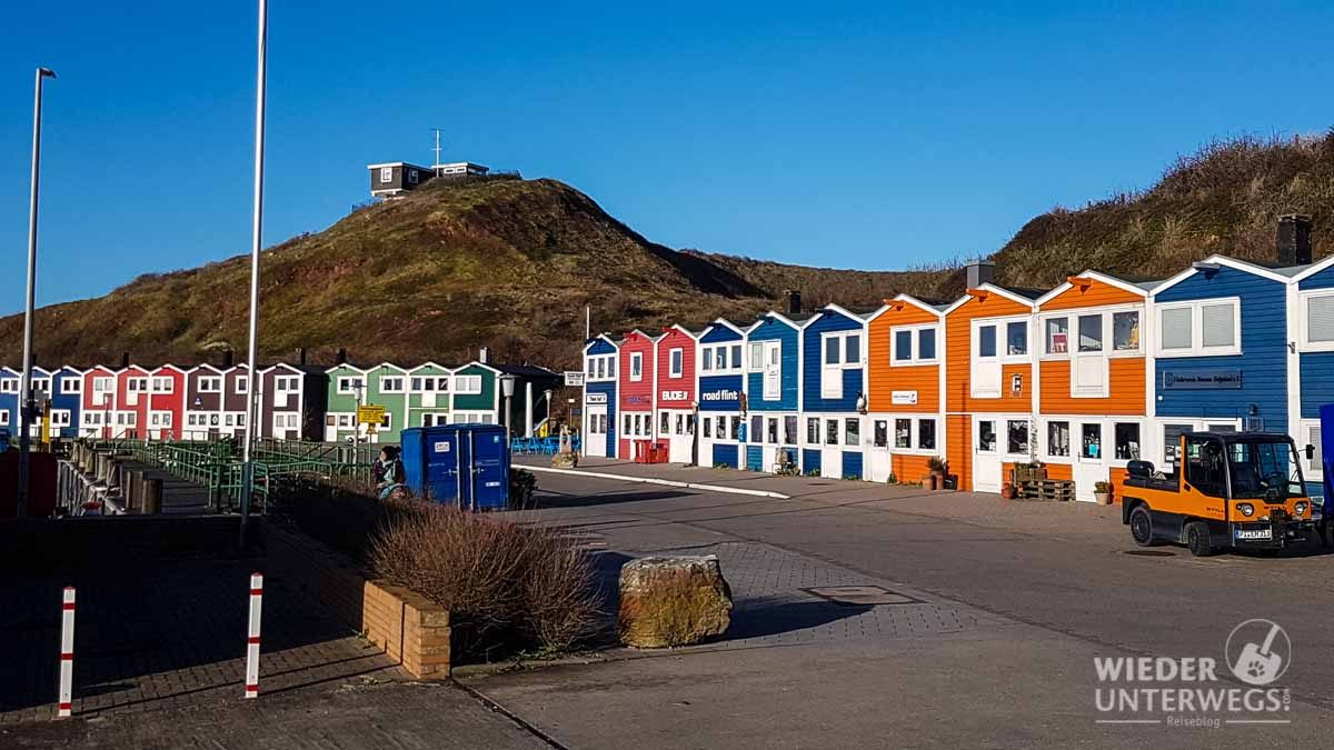 Fischerhütten Helgoland