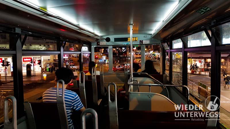 Hongkong tipps tram