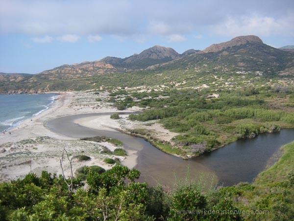 Flussbaden Ostriconi Korsika