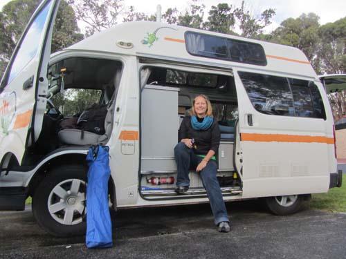 Im Wohnmobil Campervan Australien