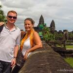 Mit dem Tuk Tuk durch Angkor Wat