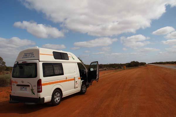 Allein im Wohnmobil Australien unterwegs