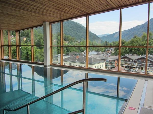Erzherzog Johann Bad Aussee Pool