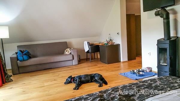 Slowenien mit Hund: Wohnen in Kamnik
