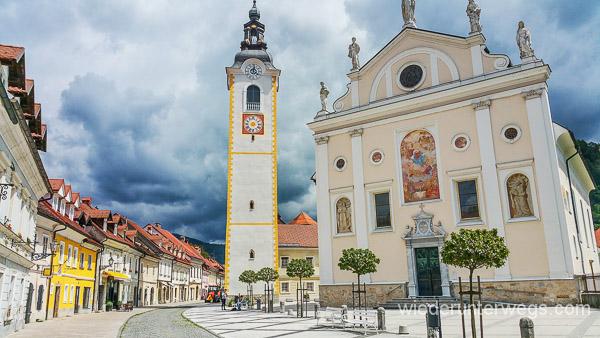 Kamnik, ein Traum in Slowenien mit Hund