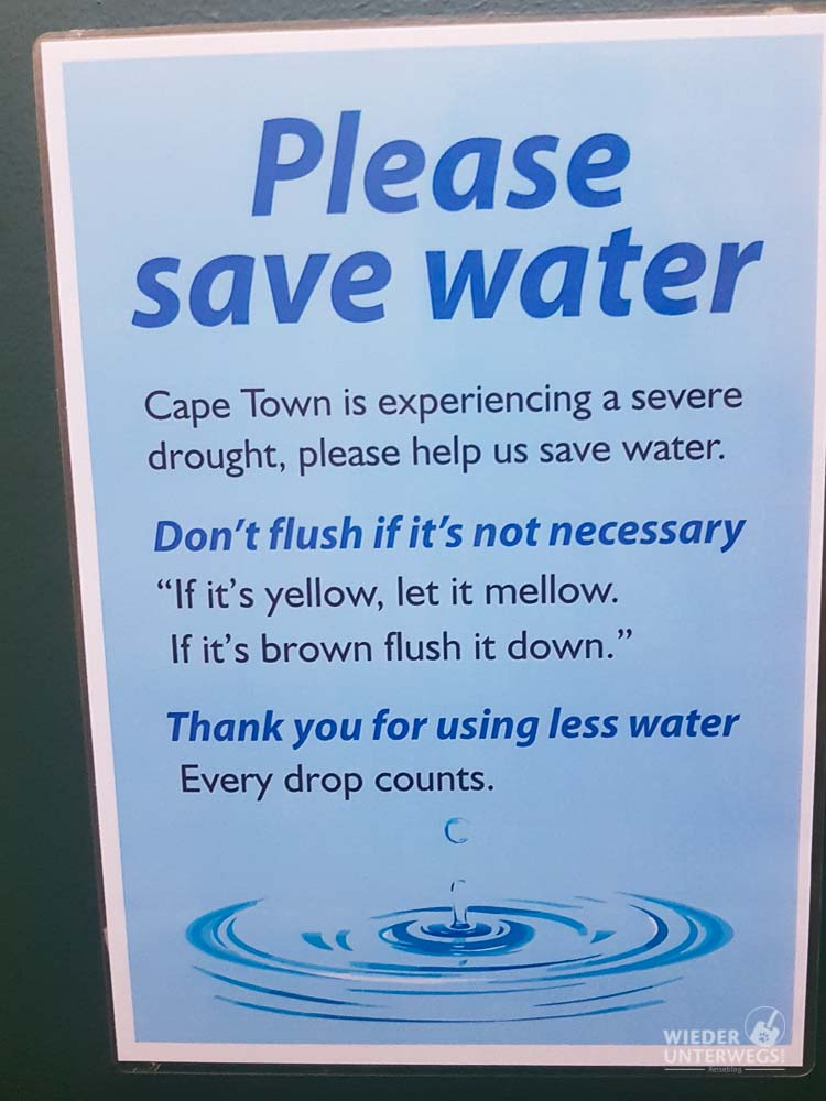 Wasser sparen Tipp