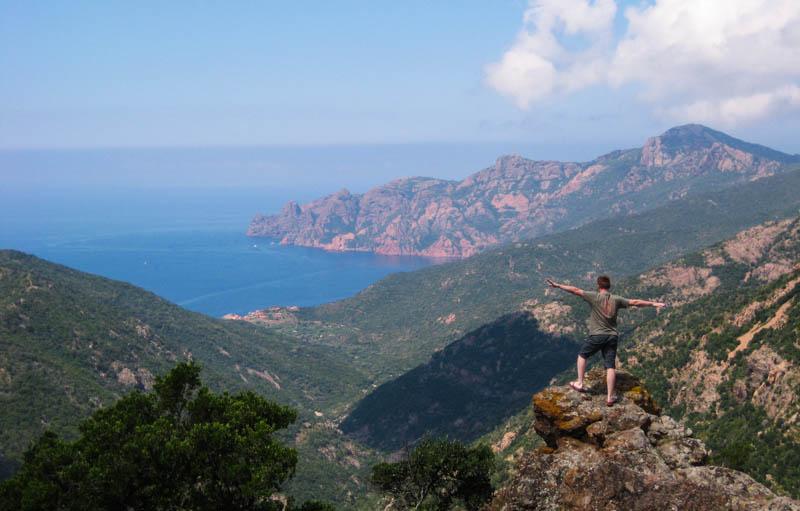 Korsika Küste