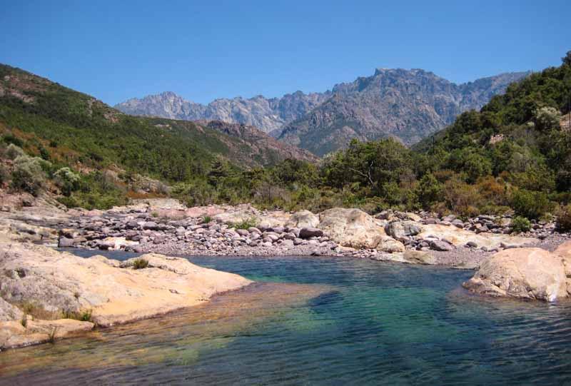 Korsika Tipps Fluss Fango
