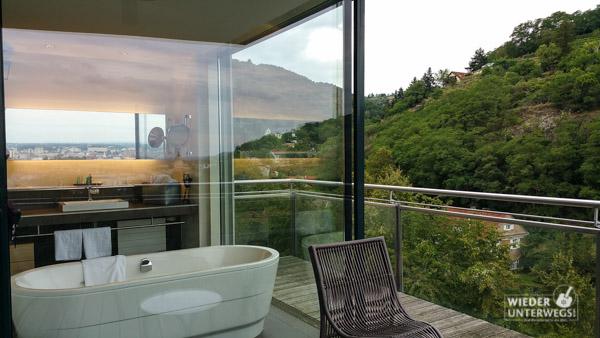 Luxus zimmer badewanne steigenberger