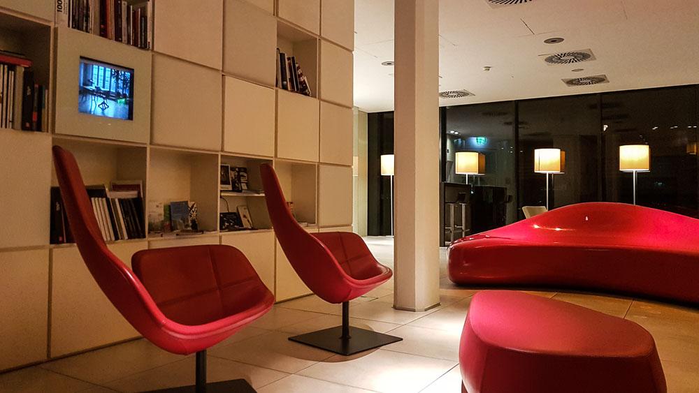 Linz Hotel Spitz Lobby