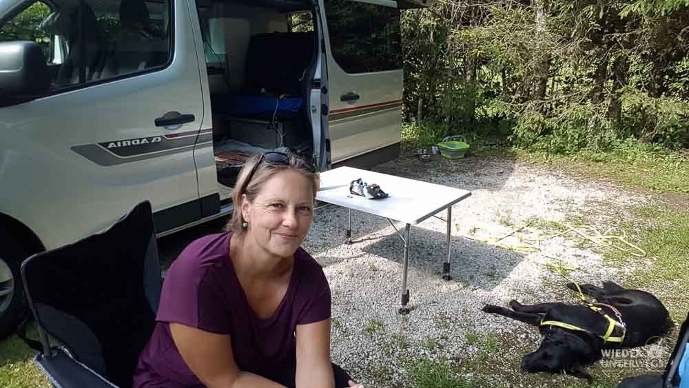 Camping mit Hund in Niederösterreich, Miete Campingbus