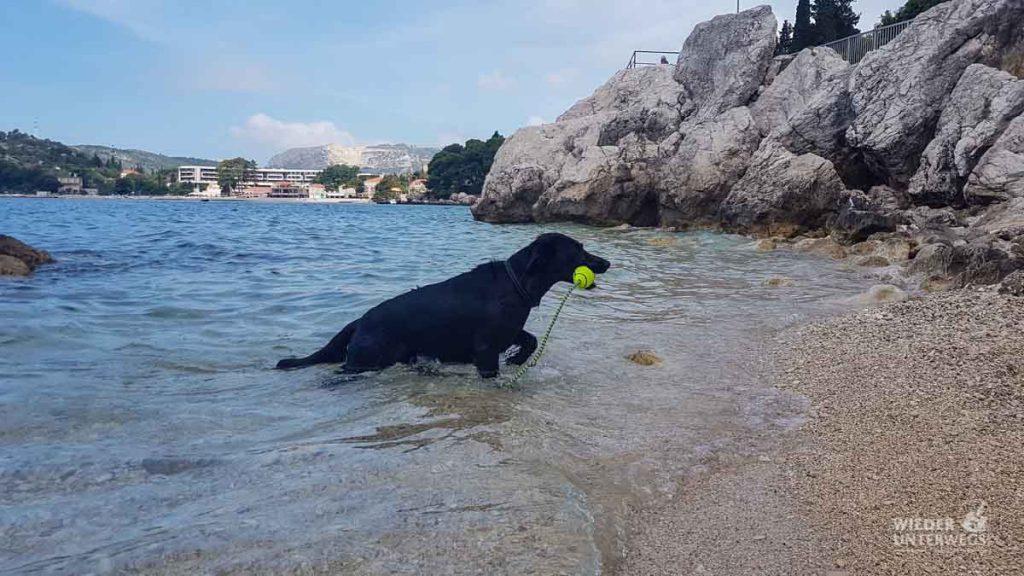 Fahrt nach Montenegro Tipp Badestopp