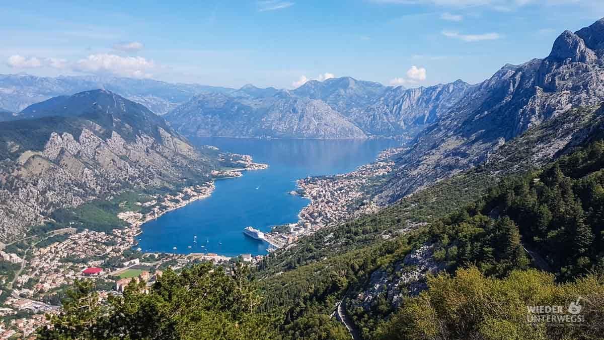 küste montenegro kotor