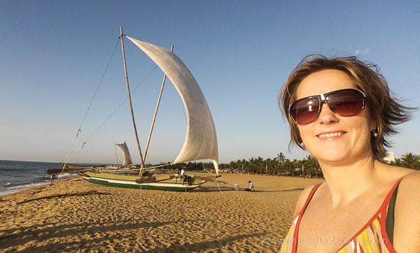 Negombo Sri Lanka Beach