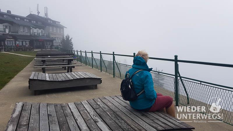 Nebel sommer rax