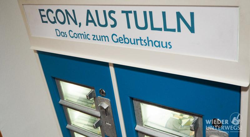 Tulln Bahnhof der Geburtsort Egon SChieles