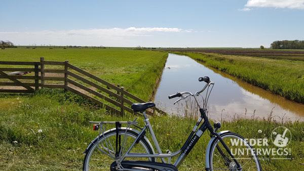 Radweg Texel Kanal
