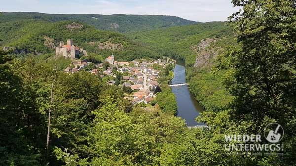 Blick auf die Thaya in Niederösterreich