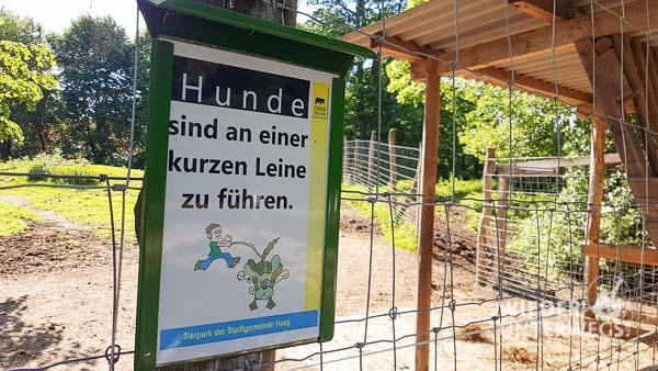 Tierpark Haag Hunde Leine