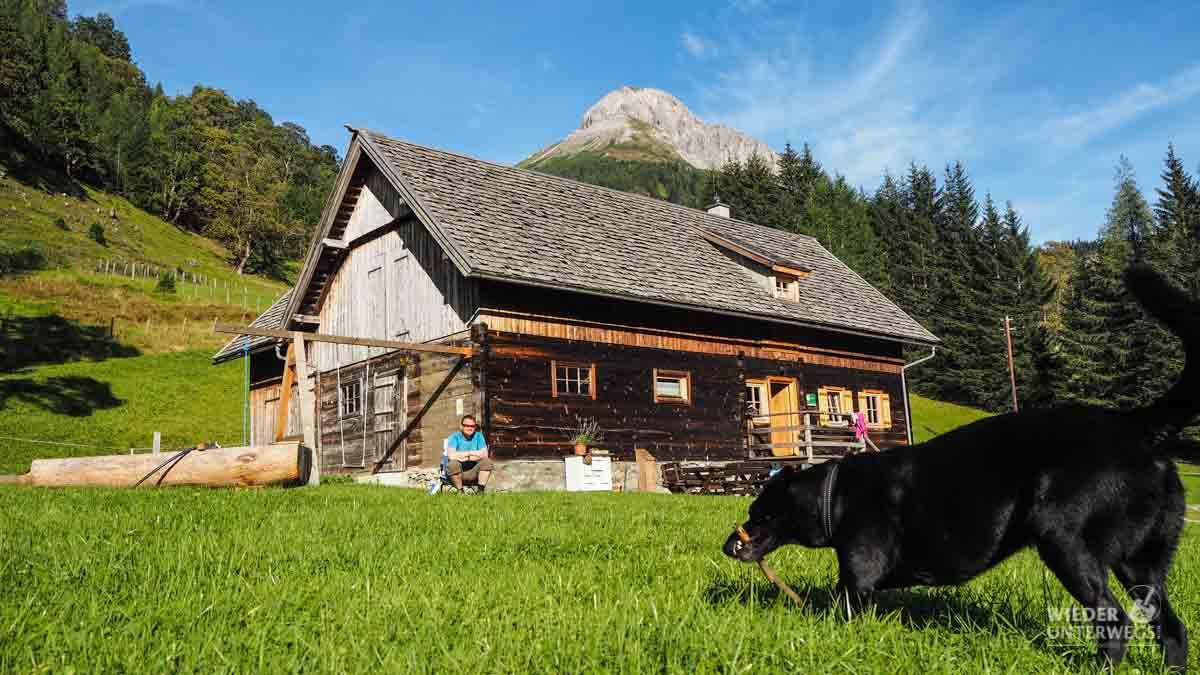 Hauserlhütte Urlaub mit Hund