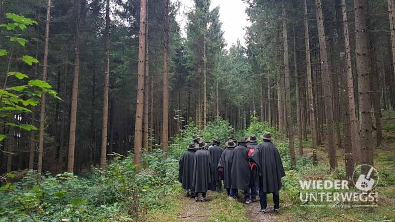Wanderung Waldness