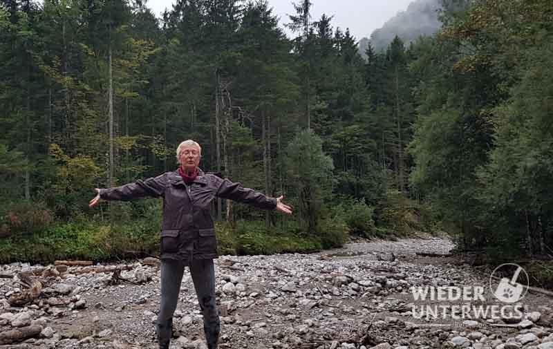 Wyda Waldbaden am Fluss mit Waldness